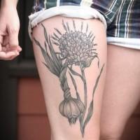 lovely flower tattoo on shoulder. Black Bedroom Furniture Sets. Home Design Ideas