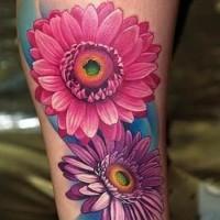 Flower tattoos for men