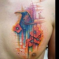Kolibri Tattoo von Benjamin Otero
