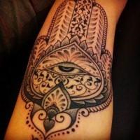 bello simbolico buddismo tatuaggio