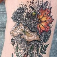 Geometric Tree Tattoo On Arm Tattooimages Biz