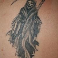 Old school death tattoo