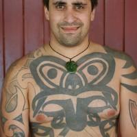 Polynesisches Maoritattoo