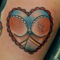 Sexy butt tattoo