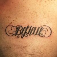 Ambigramma con la parola