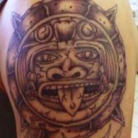 Amimitl art tattoo