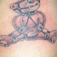 bdsm orsacchiotto tatuaggio particolare