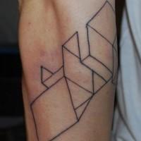 Le tatouage géométrique minimaliste