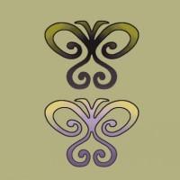 Le tatouage de papillon tribal