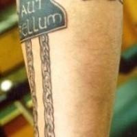 strle celtico manicotto tatuaggio