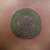 Four leaf clover cfc tattoo