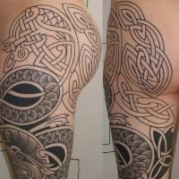 celtiche nodi lavorato tatuaggio