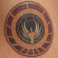 Movie symbol tattoo