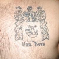 Van horn emblem tattoo