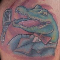 Crocodile classic singer tattoo