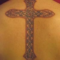 Le Tatouage De Croix Celtique Avec Un Trefle Tattooimages Biz