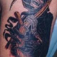 3d triste mititore tatuaggio
