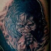 Exorcist movie demon tattoo