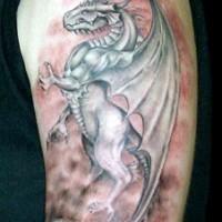 Le tatouage de dragon de filme le Cœur de dragon