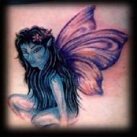 Fairy from pandora tattoo
