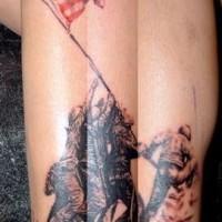 foto popolare opera d'arte tatuaggio