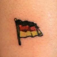 bandiera tedesca tatuaggio