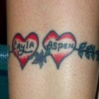 Girly love armband  tattoo