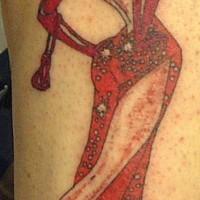 Jessica Rabbit tatuata