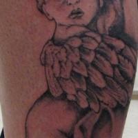 piccolo cherubino sonno tatuaggio