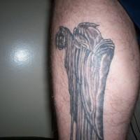 Il stregone con lanterna tatuaggio