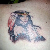 Naked indian girl tattoo