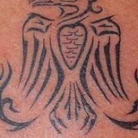 Fenice tribale simbolo tatuaggio