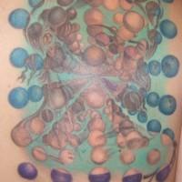 Salvador dali artwork tattoo