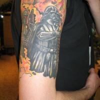 Tatuaggio di dart fener e la compagnia