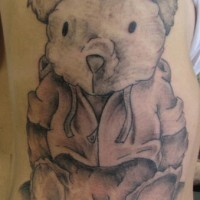 vecchio orsacchiotto tatuaggio
