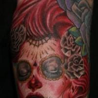 Zombie muerte tattoo