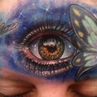 Tatouage avec un œil