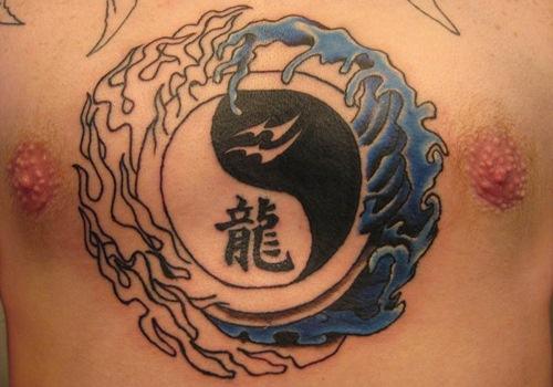 Zodiac yin yang